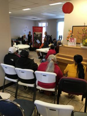 St. Louis Symphony Heart Quartet Performs for Immigrants