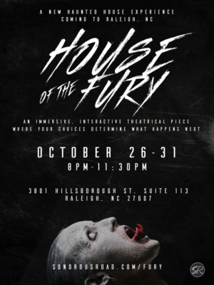 Sonorous Road Theatre Scares Up One of a Kind Haunted House in Raleigh