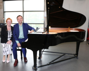 Culture Warrington Welcomes Its First Patron
