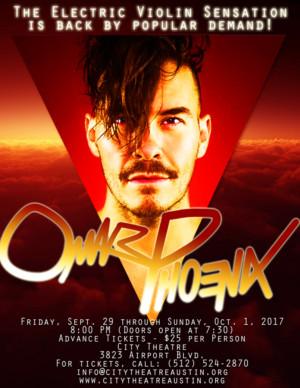 Omar Phoenix Returns to Austin in Concert