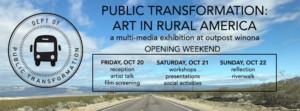 The Role of Art in Contemporary Rural America Explored Multi-Media Exhibition