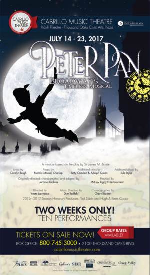 Cabrillo Music Theatre Flies Off to Neverland with PETER PAN