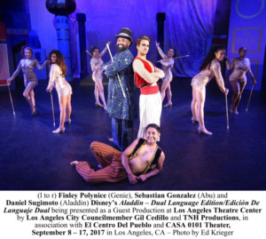 Dual Language Edition of Disney's ALADDIN to Open This Week at LATC