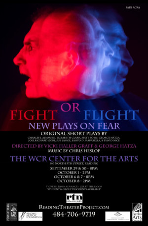 Reading Theater Project to Present FIGHT OR FLIGHT: NEW PLAYS ON FEAR