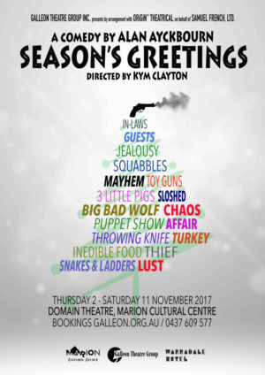 Galleon theatre group to stage alan ayckbourns seasons greetings m4hsunfo