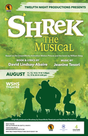 Twelfth Night Productions presents SHREK THE MUSICAL