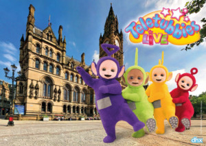 10 Weeks To Go Until The Teletubbies Are In Manchester