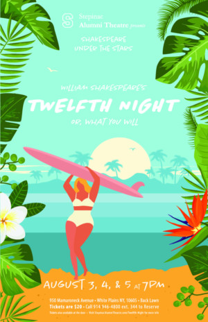 Stepinac Alumni Theatre to Continue 'Shakespeare Under the Stars' with TWELFTH NIGHT