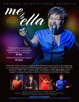 Andrea Frierson's ME & ELLA, Valentine to the 'First Lady of Song', Opens Tonight at York Theatre Company