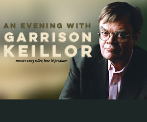 Garrison Keillor to Bring Solo Show to the Fabulous Fox