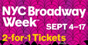 Get Two-for-One Tickets to 23 Shows During NYC Broadway Week
