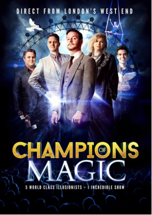 CHAMPIONS OF MAGIC to Bring Holiday Illusions to Playhouse Square