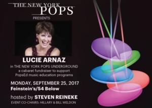 Lucie Arnaz to Headline New York Pops' Fall Cabaret Fundraiser at Feinstein's/54 Below