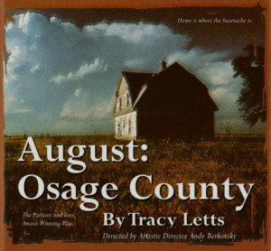 The City Theatre to Stage Dark Comedy AUGUST: OSAGE COUNTY This Summer