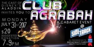 Disney's ALADDIN Cast to Present CLUB AGRABAH Benefit Cabaret for BC/EFA
