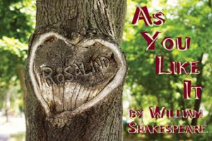 First Folio Theatre Presents William Shakespeare's AS YOU LIKE IT