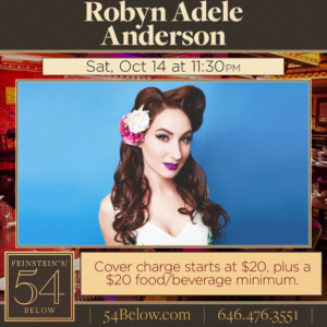 Robyn Adele to Cover *NSYNC, Nirvana, Amy Winehouse and More at Feinstein's/54 Below