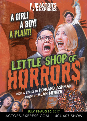 Don't Feed the Plants! Actor's Express Announces LITTLE SHOP OF HORRORS