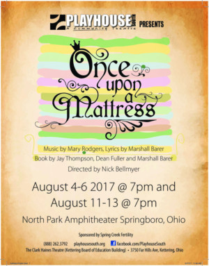 Playhouse South presents ONCE UPON A MATTRESS