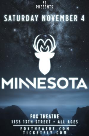 MINNESOTA Comes to Fox Theatre This Fall