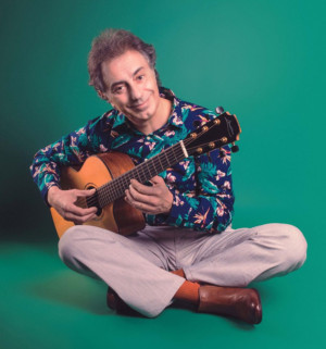 France's Acoustic Guitar Wiz Pierre Bensusan In Concert in Boulder, Colorado 9/9