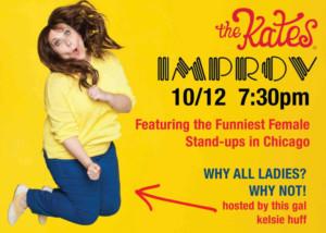 the kates Come to Chicago Improv 10/12