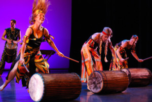 20th Anniversary Season of RDT's Ring Around the Rose Opens with AFRICAN DRUMS 9/9