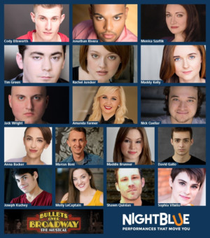Casting Announced for NightBlue's BULLETS OVER BROADWAY