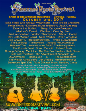 Suwannee Roots Revival Adds Mother Finest, Chatham County Line, Guy Clark Tribute & More