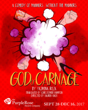 The Purple Rose Theatre Opens 27th season with GOD OF CARNAGE