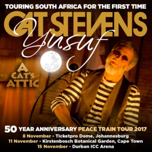 Yusuf Cat Stevens Announces New Dates for South African Tour