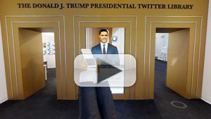 VIDEO: Trevor Noah Announces Online & Interactive Version of Trump Presidential Twitter Library