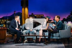 VIDEO: Will Arnett, Seth Rogen & Alison Brie Visit LATE LATE SHOW