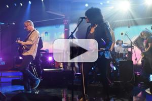 VIDEO: The New Pornographers Perform 'Whiteout Conditions' on LATE SHOW