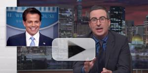 VIDEO: John Oliver Tackles Alex Jones, Anthony Scaramucci & More on LAST WEEK TONIGHT