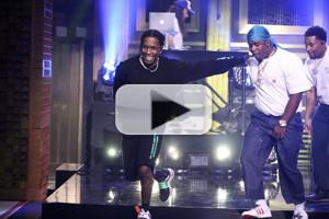 VIDEO: A$AP Mob Perform 'Feels So Good' on TONIGHT SHOW