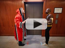 VIDEO: James Corden Wants to Be Floyd Mayweather's New Hype Man