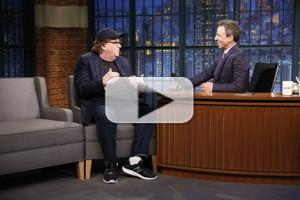 VIDEO: Michael Moore Talks Taking Entire BroadwayAudience to Protest Trump
