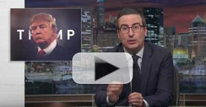 VIDEO: John Oliver Warns Republicans in No Hurry to Oust Trump