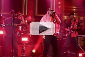 VIDEO: Prophets of Rage Perform 'Living on the 110' on TONIGHT SHOW