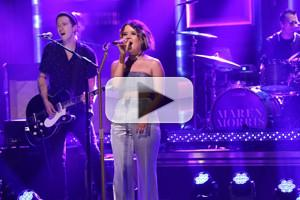 VIDEO: Maren Morris Performs 'Rich' on TONIGHT SHOW