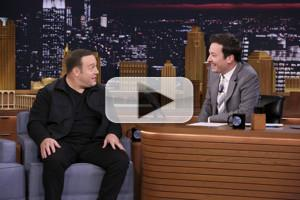 VIDEO: Kevin James Corrects a Ridiculous Tabloid Rumor on TONIGHT SHOW
