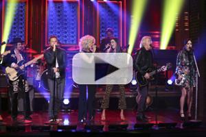 VIDEO: Little Big Town, Kacey Musgraves & Midland Rock a Medley on TONIGHT SHOW