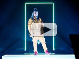 VIDEO: Billie Eilish Performs 'Ocean Eyes' for Apple Music Up Next Series