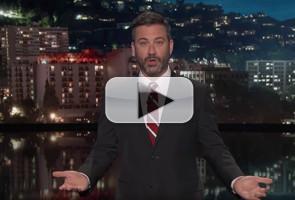 VIDEO: Jimmy Kimmel Fights Back Against Bill Cassidy, Lindsey Graham & Chris Christie