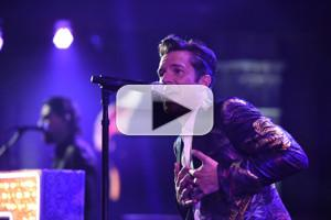 VIDEO: Rock Band The Killers Perform 'The Man' on LATE SHOW