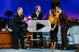 VIDEO: Mentalist Lior Suchard Bends Time for America Ferrara & Jeremy Piven