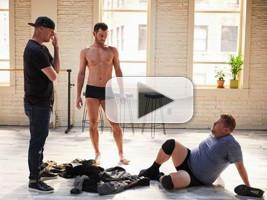 VIDEO: Channing Tatum Grooms James Corden for 'Magic Mike Live'
