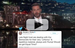VIDEO: Jimmy Kimmel Addresses Recent Twitter Fight with Donald Trump Jr.