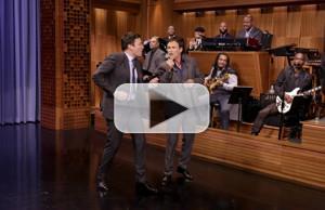 VIDEO: Stephen Moyer Celebrates His Birthday with Karaoke Performance on TONIGHT SHOW